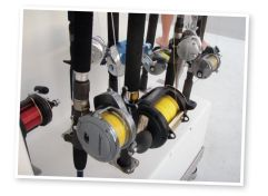Choose sturdy tackle for fishing in deep water.